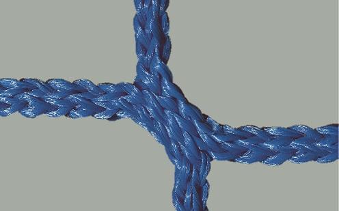 Tornetz für Wettkampftore 7,32 x 2,44 m in Blau