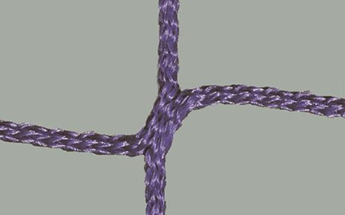 Netz für Jugendfußballtore, 80/150 cm Auslage in Lila