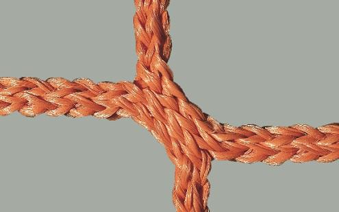 Tornetz für Wettkampftore 7,32 x 2,44 m in Orange