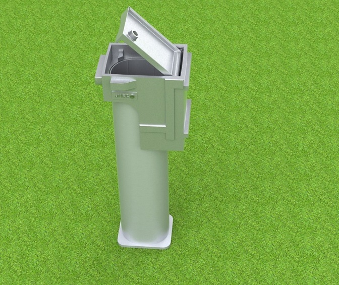 Ground socket special for oval profile, coatable