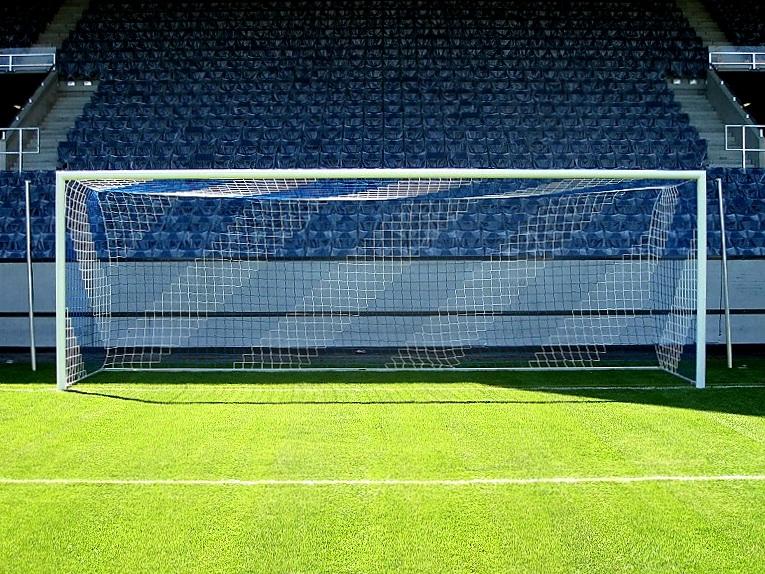 Stadion-Fußballtor