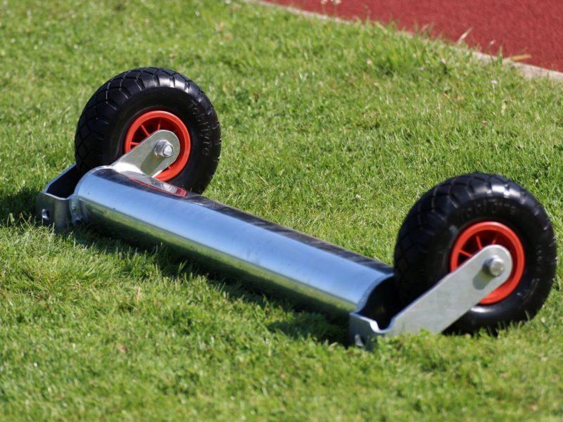 Kippsicherung für Fußballtore - Zusatzgewichte auch zum Nachrüsten geeignet