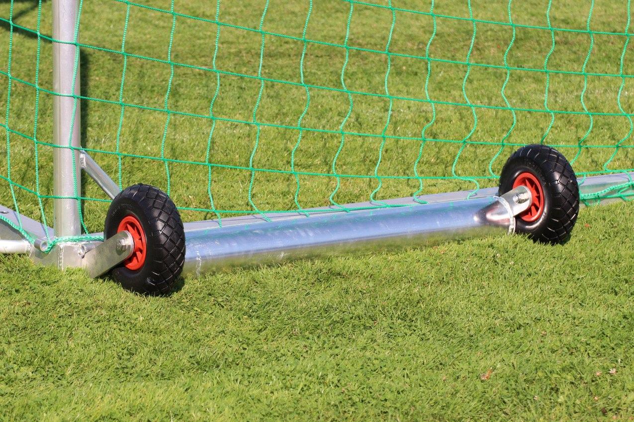 Kippsicherung für Fußballtore, 200 kg Gewicht