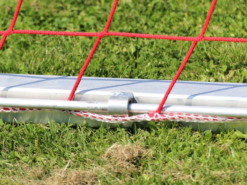 Netzsicherung für Fußballtore mit 2 m Auslage
