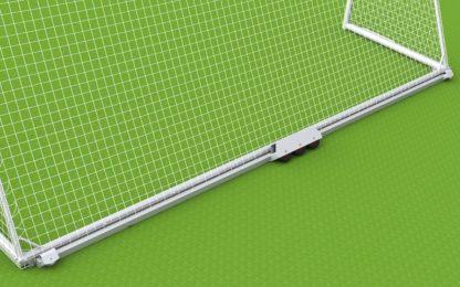 Fußballtor - Trainingstor mit Oval - Bodenrahmen von artec
