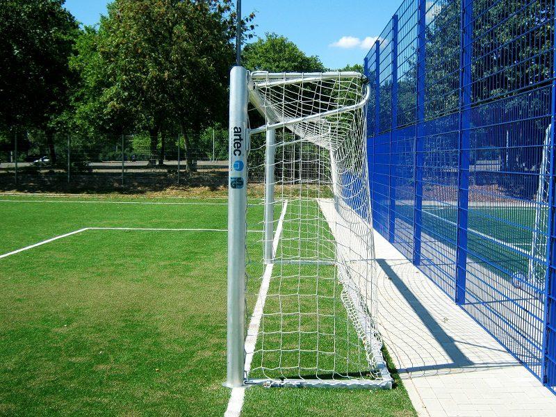 Stationäres Jugendfußballtor