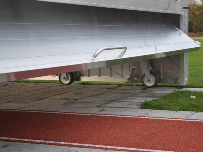 Kipptoröffnung für Sicherheits-Abdeckung