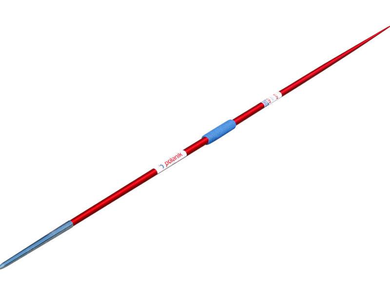 Wettkampf-Speer mit Stahlspitze aus Aluminium