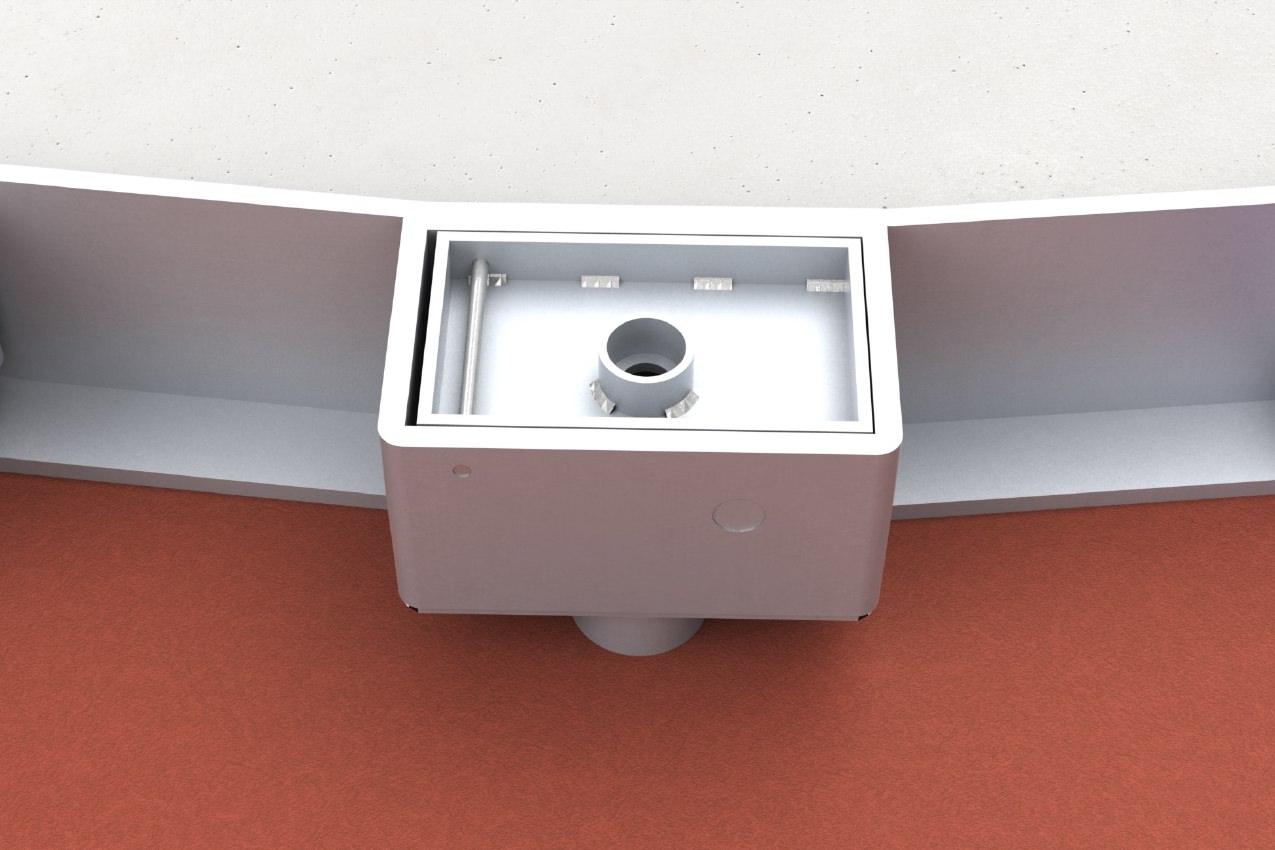 Mobiler Kugelstoßring für Rollstuhlfahrer aus Aluminium