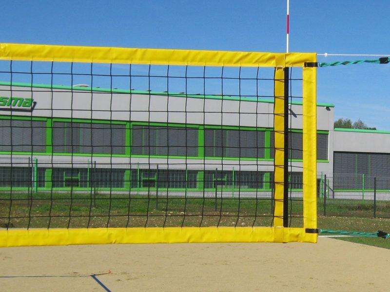 Beachvolleyballnetz für den Wettkampf