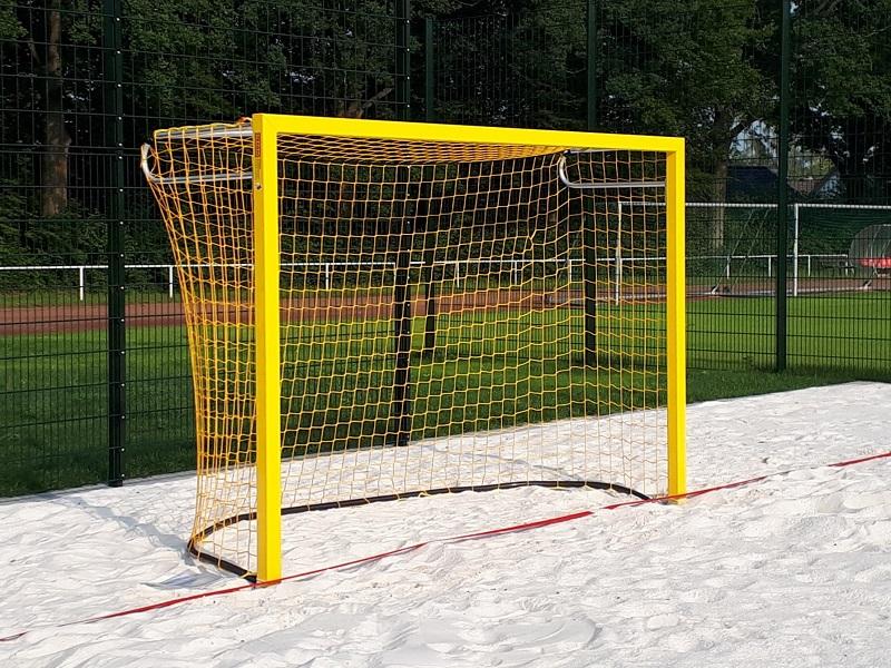 Beach-Handballtor in Gelb