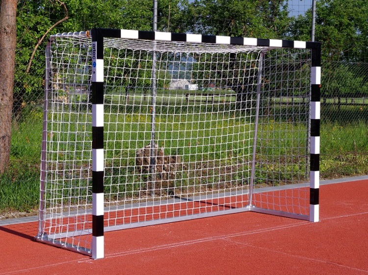 Handballtor mit Netz über Bügel 3 x 2 m