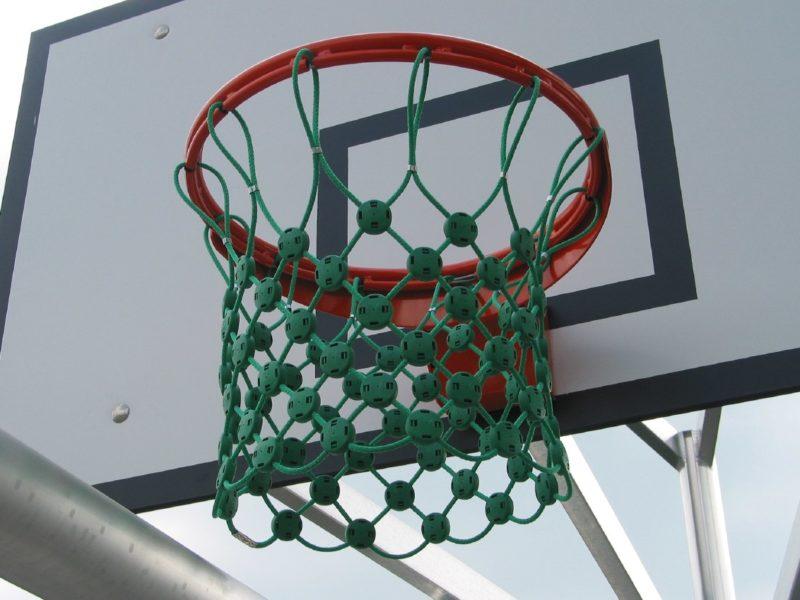 Basketballnetz aus Herkulesseil mit Stahleinlage