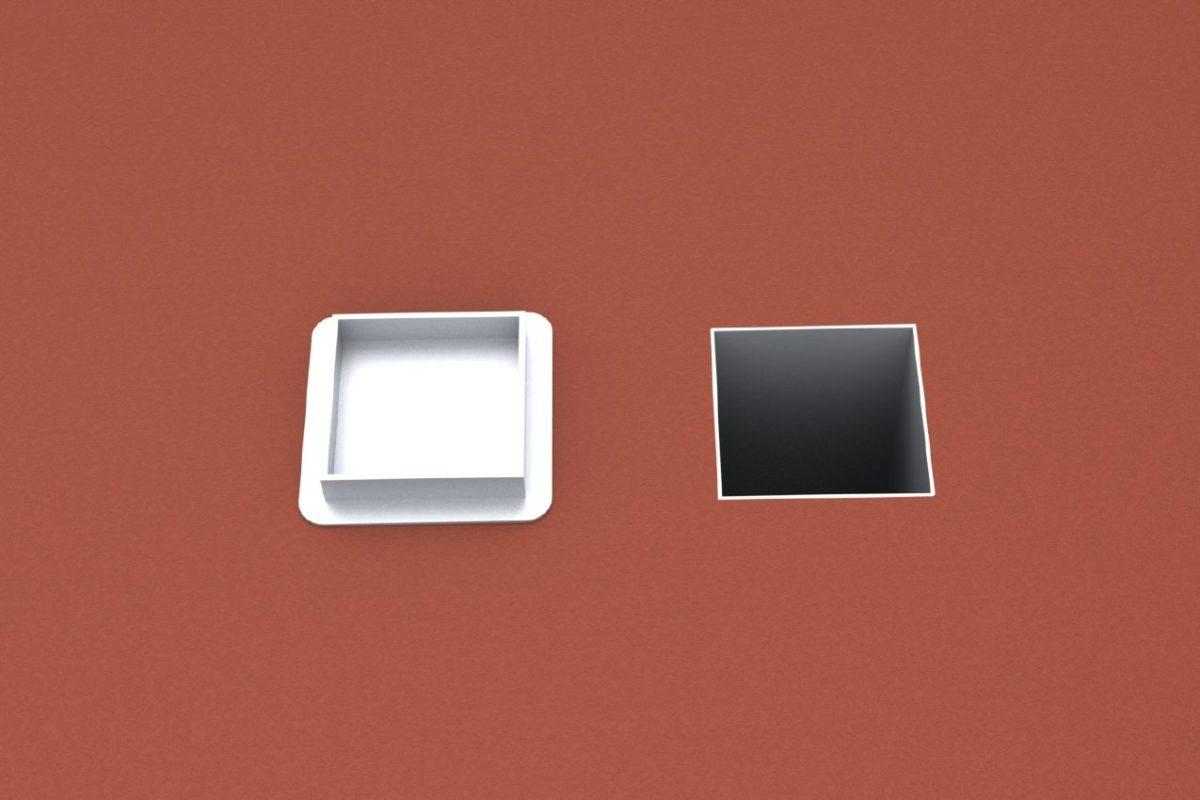 Ground socket standard for profile 150 x 150 mm, artec Sportgeräte