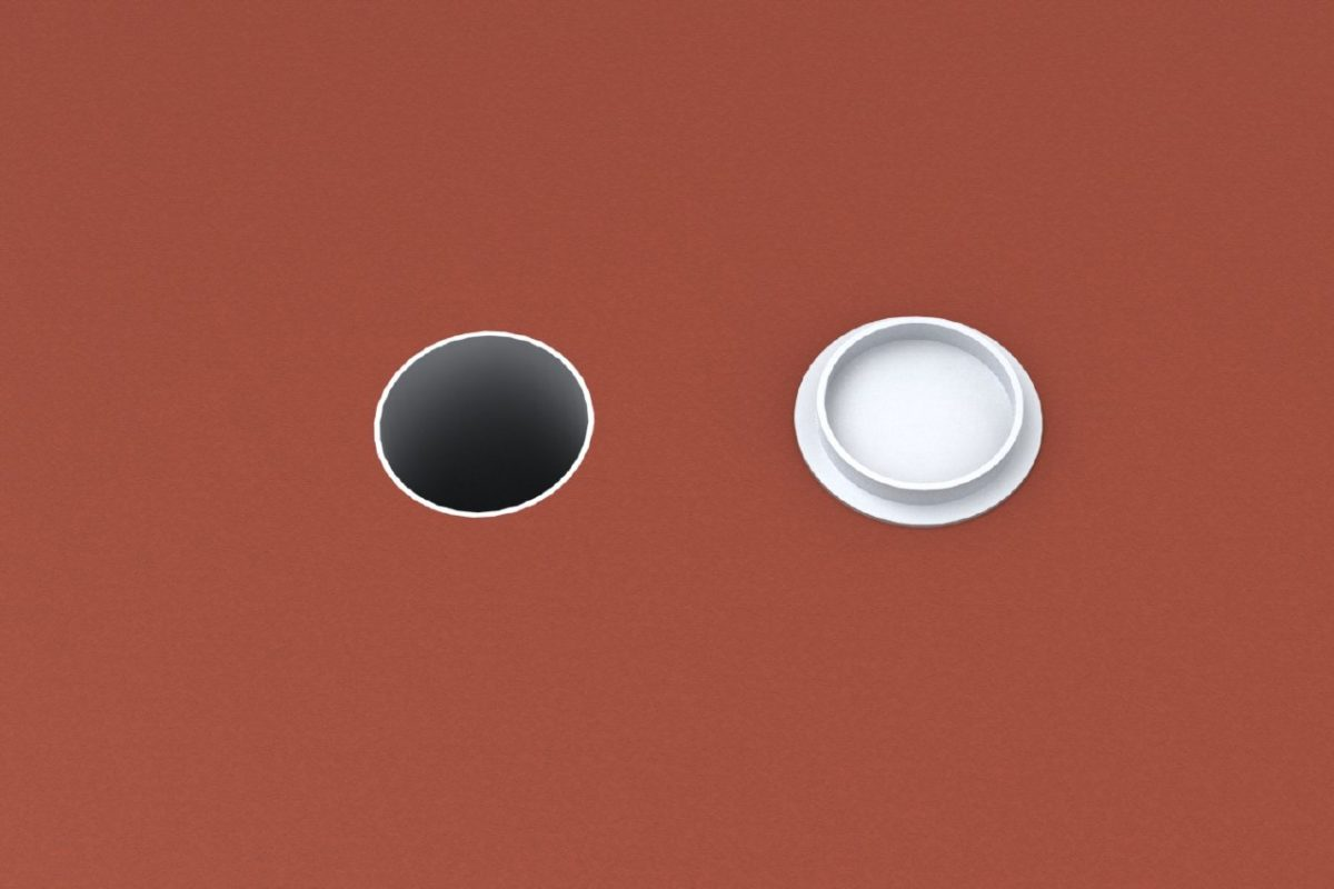 Bodenhülse Standard für Basketball - Einmastständer, Rundprofil 140 mm von artec