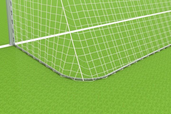 Kettenbeschwerung für Fußballtore mit Netzbügeln für untere Ausladung 1,50 m von artec Sportgeräte