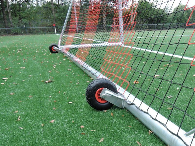 Räder für Fußballtore, Trainingstore, Jugendtore, Minitore etc., pro Tor 1 Satz = 2 Stück erforderlich