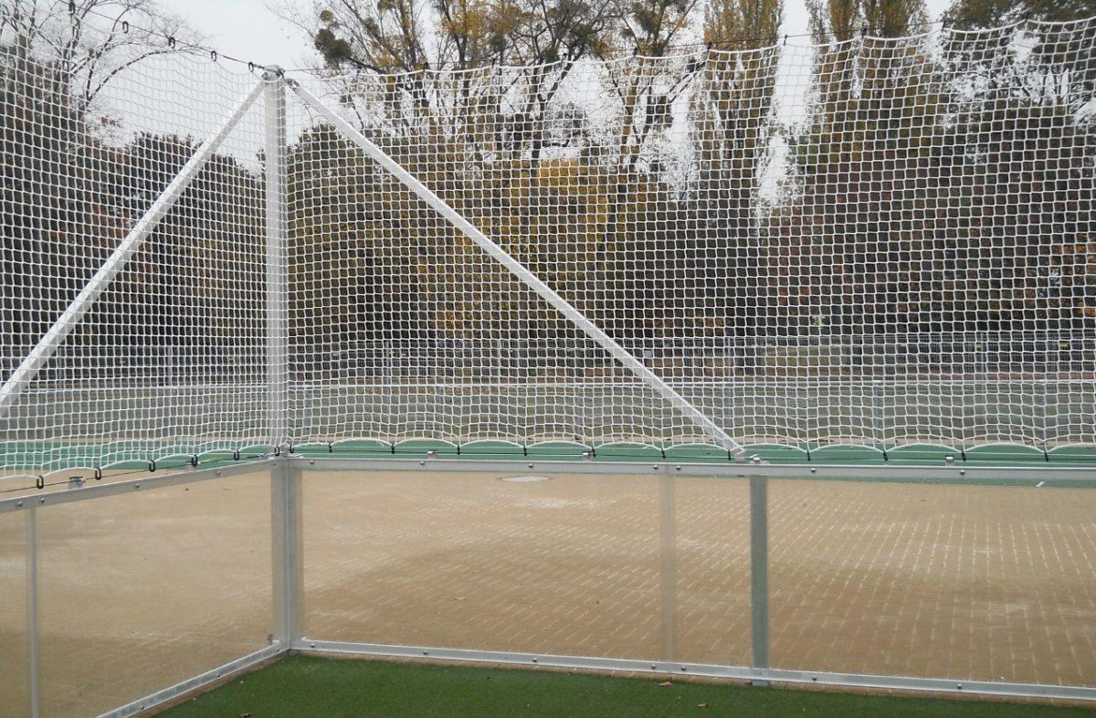 Badensystem mit Acrylglas für Soccer Court