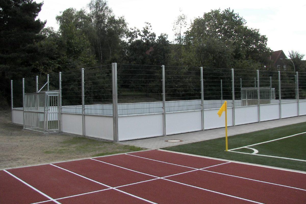 Günstiger Soccer - Court 40 x 20 m von artec Sportgeräte in verschiedenen Ausstattungen
