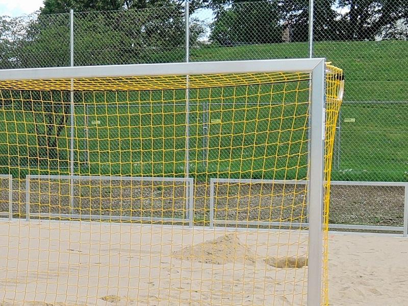 Beach-Soccer-Tor aus Aluminium