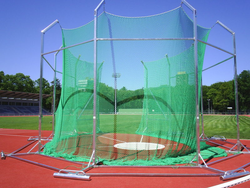 22023-10_Free standing discus cage, 6.0 m
